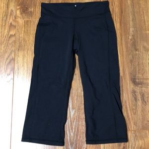 Athleta Black Athletic Capris